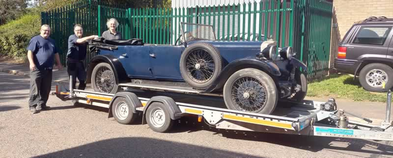 Classic car transport and logisitcs